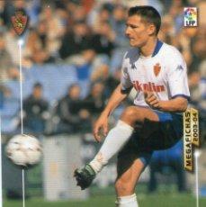 Cromos de Fútbol: GALCA (REAL ZARAGOZA) - Nº 351 - MEGAFICHAS 2003/2004 - PANINI.. Lote 222223766
