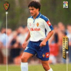 Cromos de Fútbol: PABLO (REAL ZARAGOZA) - Nº 351 BIS - NUEVA FICHA - MEGAFICHAS 2003/2004 - PANINI.. Lote 222223901