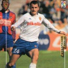 Cromos de Fútbol: SORIANO (REAL ZARAGOZA) - Nº 352 - MEGAFICHAS 2003/2004 - PANINI.. Lote 222224072