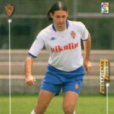Cromos de Fútbol: JESÚS (REAL ZARAGOZA) - Nº 353 - MEGAFICHAS 2003/2004 - PANINI.. Lote 222224220