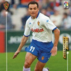 Cromos de Fútbol: VELLISCA (REAL ZARAGOZA) - Nº 354 - MEGAFICHAS 2003/2004 - PANINI.. Lote 222224322