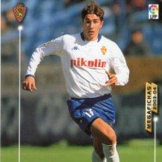 Cromos de Fútbol: CANI (REAL ZARAGOZA) - Nº 356 - MEGAFICHAS 2003/2004 - PANINI.. Lote 222224580