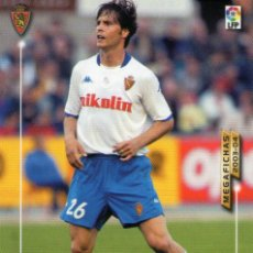 Cromos de Fútbol: IBÁN ESPADAS (REAL ZARAGOZA) - Nº 359 - MEGAFICHAS 2003/2004 - PANINI.. Lote 222225020