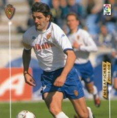 Cromos de Fútbol: YORDI (REAL ZARAGOZA) - Nº 360 - MEGAFICHAS 2003/2004 - PANINI.. Lote 222225233