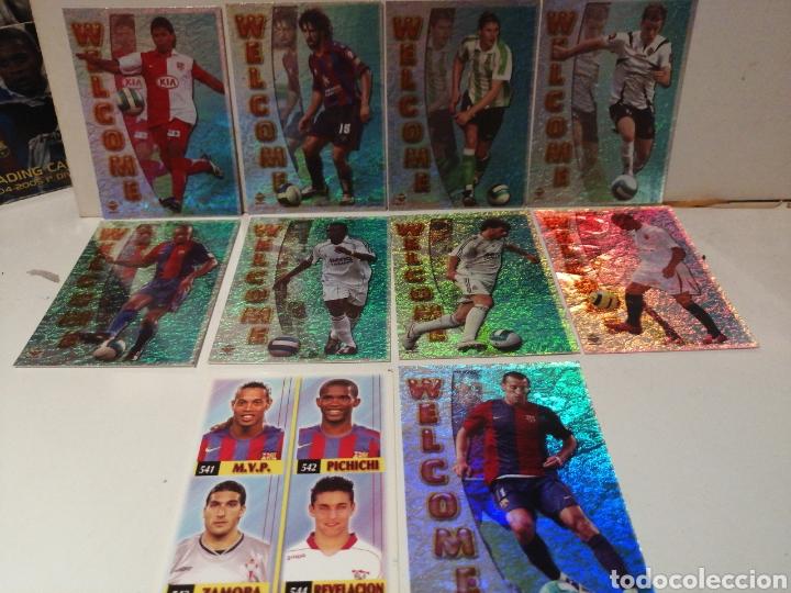 LAS FICHAS DE LA LIGA 2007 LOTE DE 9 WELCOME Y CUADRO DE HONOR (Coleccionismo Deportivo - Álbumes y Cromos de Deportes - Cromos de Fútbol)