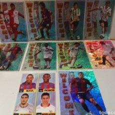 Cromos de Fútbol: LAS FICHAS DE LA LIGA 2007 LOTE DE 9 WELCOME Y CUADRO DE HONOR. Lote 222255326