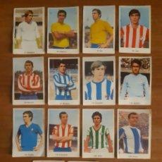 Cromos de Fútbol: LOTE DE 15 CROMOS DIFERENTES LIGA 72-73 ED. RUIZ ROMERO. Lote 222294510