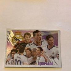 Cromos de Fútbol: EQUIPAZOS REAL MADRID NÚMERO 12 LIGA ESTE 2013-14. CROMO PANINI. Lote 222297401