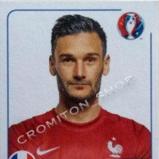 Cromos de Fútbol: Nº 17 HUGO LLORIS - FRANCE - EURO 2016 16 FRANCE FRANCIA PANINI. Lote 222297417