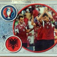 Cromos de Fútbol: Nº 13 SHQIPËRIA - ALBANIA - EURO 2016 16 FRANCE FRANCIA PANINI. Lote 222297555