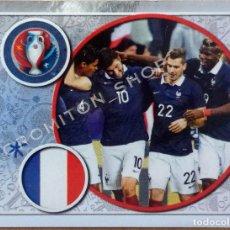 Cromos de Fútbol: Nº 9 FRANCE - EURO 2016 16 FRANCE FRANCIA PANINI. Lote 222297571