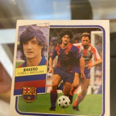 Cromos de Fútbol: LIGA 89 90 ESTE BAKERO BARCELONA. Lote 222298040