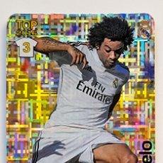 Cromos de Fútbol: MARCELO Nº 605 - MUNDICROMO 2015 2016 15 16 - METALCARDS TETRIS - TOP REAL MADRID - NUEVO. Lote 222361707