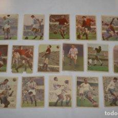 Cromos de Fútbol: EDICIONES TRIUNFO - 16 CROMOS - LIGA 59-60 / 1959 - 1960 - MUY DIFÍCIL ¡MIRA FOTOS/DETALLES! LOTE 04. Lote 222382157