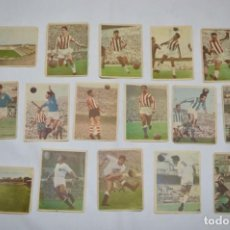 Cromos de Fútbol: EDICIONES TRIUNFO - 16 CROMOS - LIGA 59-60 / 1959 - 1960 - MUY DIFÍCIL ¡MIRA FOTOS/DETALLES! LOTE 05. Lote 222382255