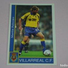Cromos de Fútbol: CROMO CARD DE FUTBOL PALERMO DEL VILLARREAL C.F. Nº 146 FICHAS LIGA 2002 01-02 DE MUNDICROMO. Lote 255926490
