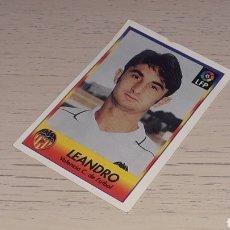 Cromos de Fútbol: CROMO Nº 314 LEANDRO, VALENCIA CF. ALBUM FÚTBOL SIGUE LA LIGA BOLLYCAO 96 97 / 1996 1997. SIN PEGAR. Lote 222511625