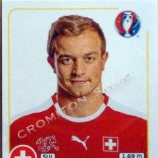 Cromos de Fútbol: Nº 116 XHERDAN SHAQIRI - SWITZERLAND - SUIZA - EURO 2016 16 FRANCE FRANCIA PANINI. Lote 222516270