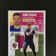 Cromos de Fútbol: LEV03 KOKE VEGAS LEVANTE 2020 2021 EDICIONES ESTE 20 21 LIGA. Lote 222586355