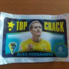 Cromos de Fútbol: CHICLE LIGA 2020 / 2021 20 / 21 TOP CRACK - ALEX FERNANDEZ - CADIZ - CHICLES. Lote 222586518