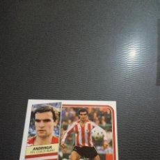 Cromos de Fútbol: ANDRINUA BILBAO ESTE 1989 1990 CROMO FUTBOL LIGA 89 90 - DESPEGADO - FR0 - 1461. Lote 222586646