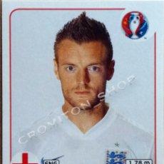 Cromos de Futebol: Nº 147 JAMIE VARDY - INGLATERRA - ENGLAND - EURO 2016 16 FRANCE FRANCIA PANINI. Lote 222620483