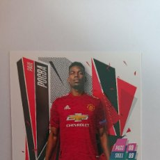Cromos de Fútbol: MATCH ATTAX 2020 2021 CHAMPIONS LEAGUE MANCHESTER UNITED PAUL POGBA TOPPS 20 21. Lote 222711112