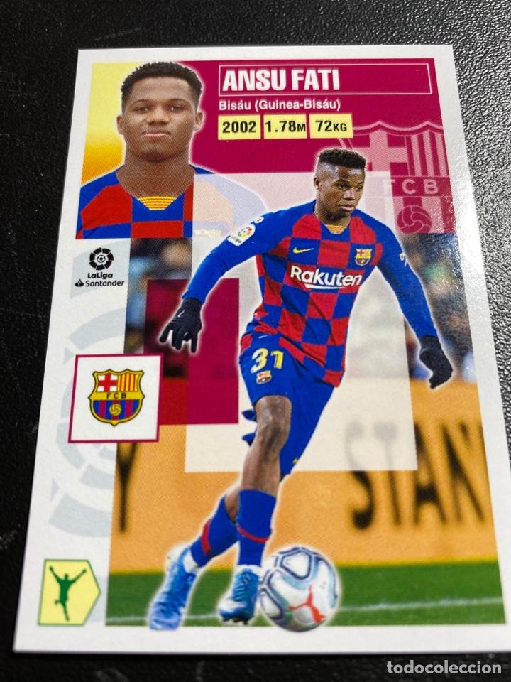 LIGA ESTE 2020-2021 ANSU FATI-FCB BARCELONA (Coleccionismo Deportivo - Álbumes y Cromos de Deportes - Cromos de Fútbol)