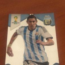 Cromos de Fútbol: PANINI PRIZM WORLD CUP BRASIL 2014 BASIC DI MARIA ARGENTINA. Lote 222711161