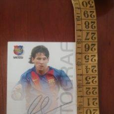 Cromos de Fútbol: ROOKIE MESSI F.C. BARCELONA 89 MEGACRACKS BARCA CAMPIÓ 2004 EN EXCELENTE ESTADO. Lote 222754863