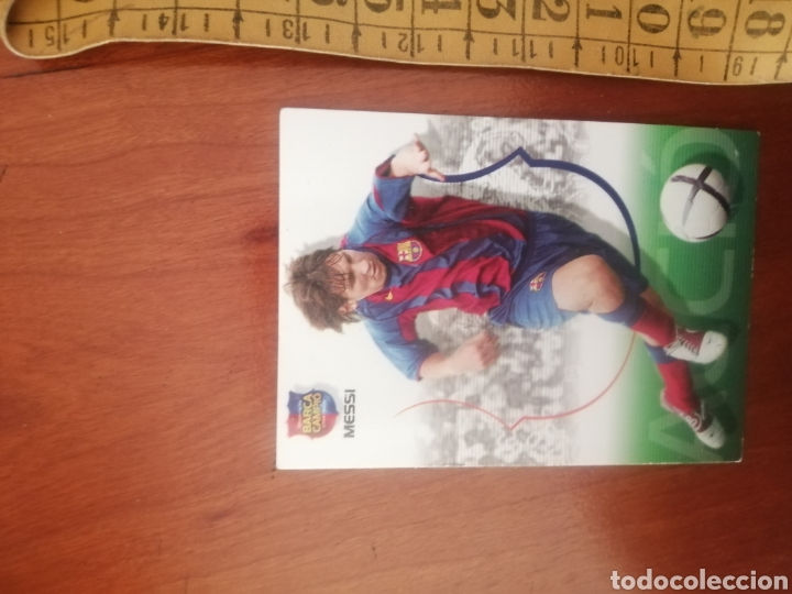 CROMOS DE FÚTBOL: LEO MESSI - 2004 ROOKIE - N°62 COLECCION BARÇA CAMPIO - #LIONELMESSI #ROOKIE (Coleccionismo Deportivo - Álbumes y Cromos de Deportes - Cromos de Fútbol)