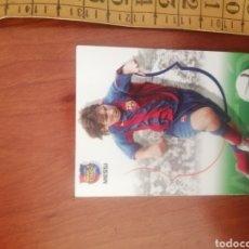 Cromos de Fútbol: CROMOS DE FÚTBOL: LEO MESSI - 2004 ROOKIE - N°62 COLECCION BARÇA CAMPIO - #LIONELMESSI #ROOKIE. Lote 222763172