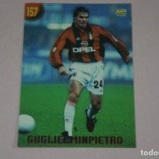Cromos de Fútbol: CROMO CARD DE FUTBOL GUGLIELMINPIETRO DEL MILAN Nº 157 CALCIATORI 2000 DE MUNDICROMO. Lote 222848813