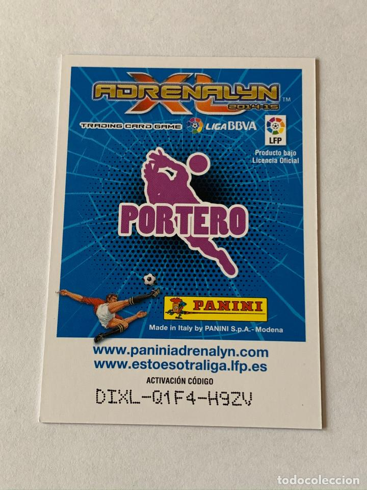 Cromos de Fútbol: 362 MOYA PORTERAZO ADRENALYN 2014-15. PANINI.CROMO - Foto 2 - 222848825