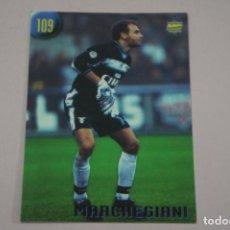 Cromos de Fútbol: CROMO CARD DE FUTBOL MARCHEGIANI DE LA LAZIO Nº 109 CALCIATORI 2000 DE MUNDICROMO. Lote 222849350