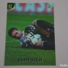 Cromos de Fútbol: CROMO CARD DE FUTBOL RAMPULLA DE LA JUVENTUS Nº 92 CALCIATORI 2000 DE MUNDICROMO. Lote 222849380