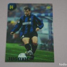 Cromos de Fútbol: CROMO CARD DE FUTBOL JUGOVIC DEL INTER DE MILAN Nº 84 CALCIATORI 2000 DE MUNDICROMO. Lote 222849503