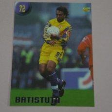 Cromos de Fútbol: CROMO CARD DE FUTBOL BATISTUTA DE LA FIORENTINA Nº 72 CALCIATORI 2000 DE MUNDICROMO. Lote 222849532