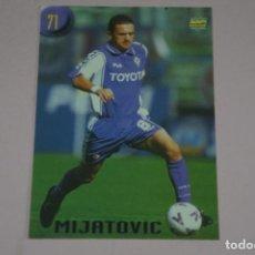 Cromos de Fútbol: CROMO CARD DE FUTBOL MIJATOVIC DE LA FIORENTINA Nº 71 CALCIATORI 2000 DE MUNDICROMO. Lote 222849568