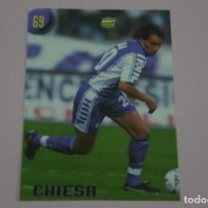 Cromos de Fútbol: CROMO CARD DE FUTBOL CHIESA DE LA FIORENTINA Nº 69 CALCIATORI 2000 DE MUNDICROMO. Lote 222849593