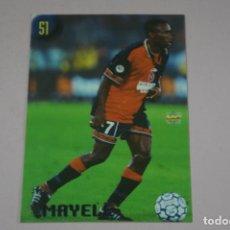 Cromos de Fútbol: CROMO CARD DE FUTBOL MAYEL DEL CAGLIARI Nº 51 CALCIATORI 2000 DE MUNDICROMO. Lote 222849611