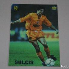 Cromos de Fútbol: CROMO CARD DE FUTBOL SULCIS DEL CAGLIARI Nº 48 CALCIATORI 2000 DE MUNDICROMO. Lote 222849637