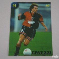 Cromos de Fútbol: CROMO CARD DE FUTBOL CAVEZZI DEL CAGLIARI Nº 44 CALCIATORI 2000 DE MUNDICROMO. Lote 222849647