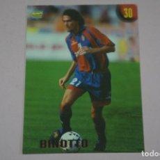 Cromos de Fútbol: CROMO CARD DE FUTBOL BINOTTO DEL BOLOGNA Nº 30 CALCIATORI 2000 DE MUNDICROMO. Lote 222849671