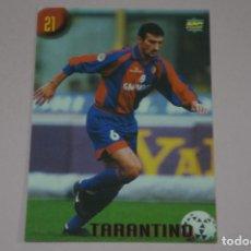 Cromos de Fútbol: CROMO CARD DE FUTBOL TARANTINO DEL BOLOGNA Nº 21 CALCIATORI 2000 DE MUNDICROMO. Lote 222849672