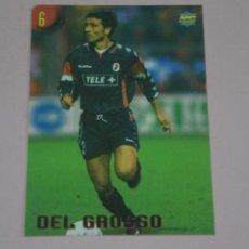 Cromos de Fútbol: CROMO CARD DE FUTBOL DEL GROSSO DEL BARI Nº 6 CALCIATORI 2000 DE MUNDICROMO. Lote 222849700