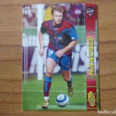 Cromos de Fútbol: MEGACRACKS 2004 2005 PANINI Nº 490 MANCHEV (LEVANTE) NUEVO FICHAJE - FUTBOL CROMO LIGA 04 05. Lote 222856501