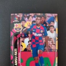 Cromos de Fútbol: ANSU FATI #72BIS MEGACRACKS 2019/20 ROOKIE CARD F. C. BARCELONA. Lote 222856662