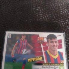 Cromos de Fútbol: ED. ESTE 13/14 NEYMAR ROOKIE CON EL BARCELONA. Lote 222856687