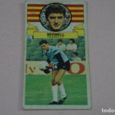 Cromos de Fútbol: CROMO DE FUTBOL BERMELL DEL VALENCIA C.F. DESPEGADO LIGA ESTE 1985-1986/85-86. Lote 222896768